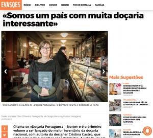 imprensa A Doçaria Portuguesa, Revista Evasões